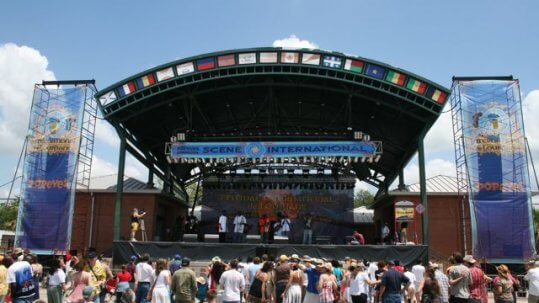 festival international stage