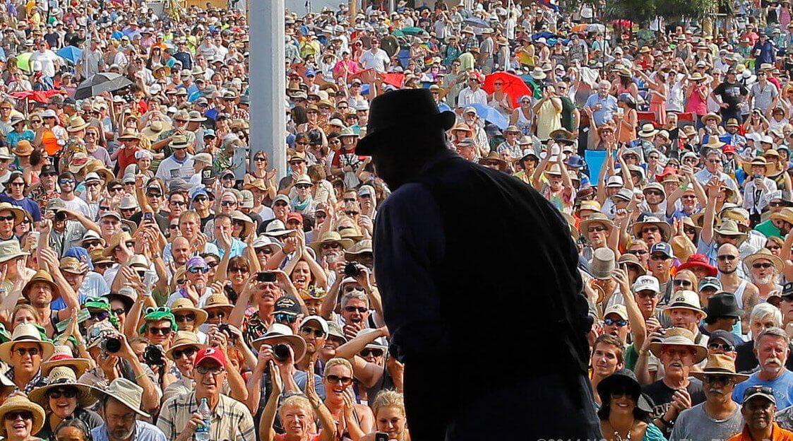 jazz & heritage festival silhouette