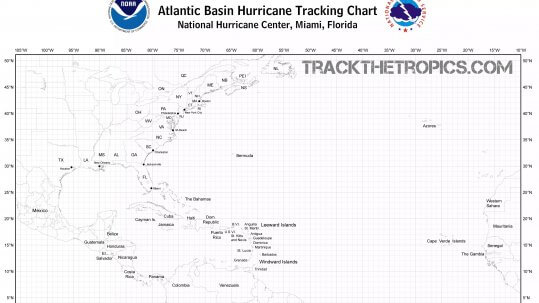 hurricane tracking chart