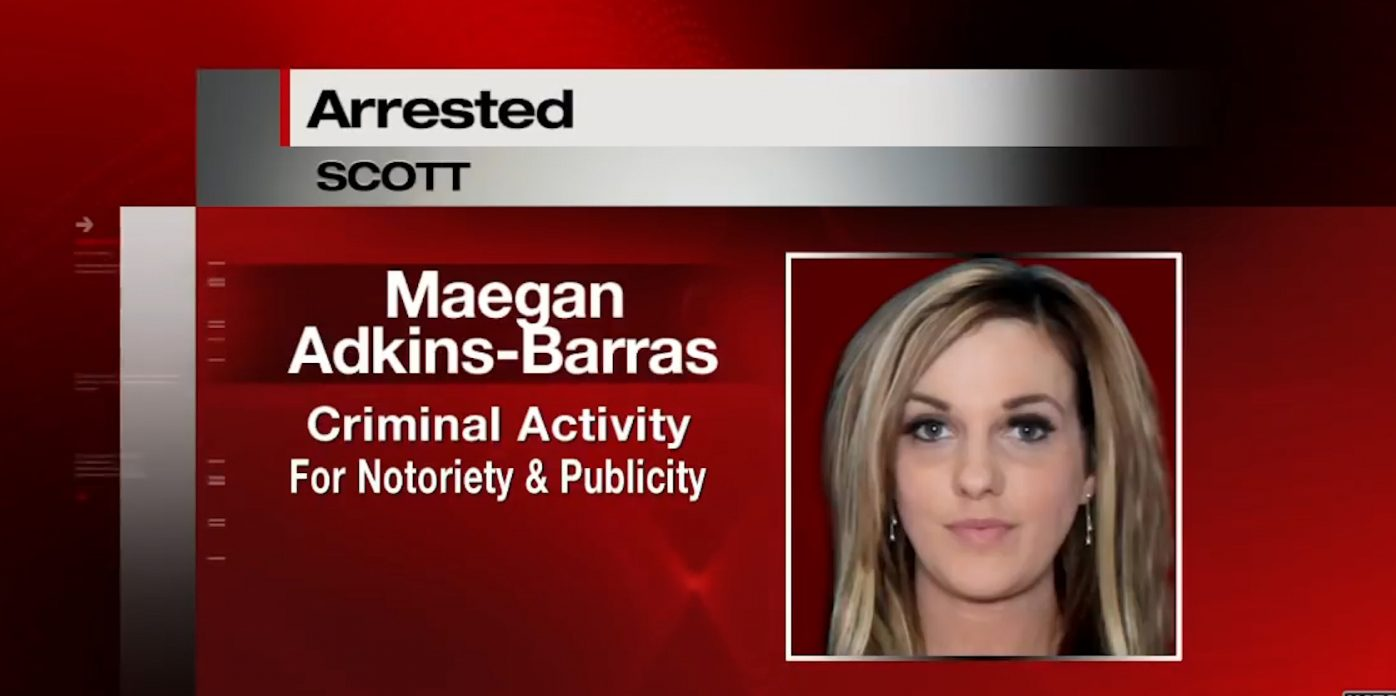 maegan barras arrested
