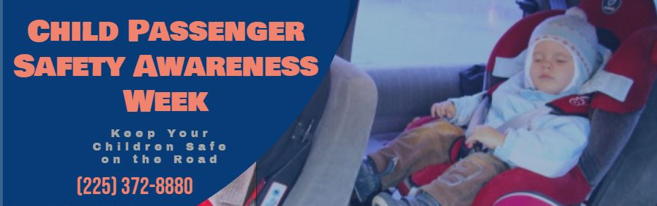 Child Passenger Safety Awareness Week