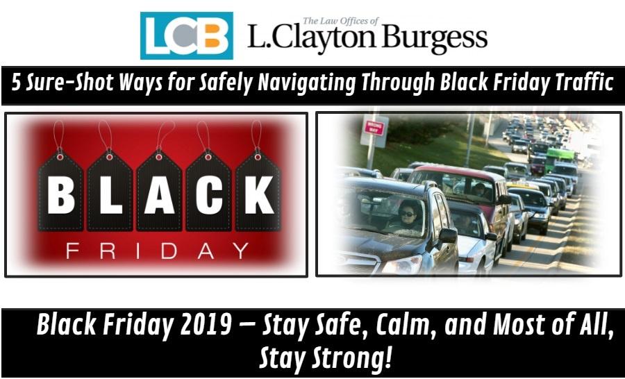 5 Sure-Shot Ways for Safely Navigating Through Black Friday Traffic