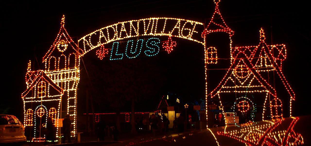 AcadianVillage NoelAcadienauVillage