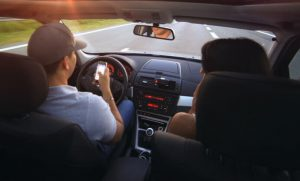 defensive driving - distractions