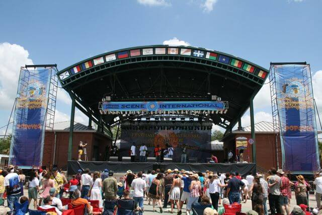 festival international stage