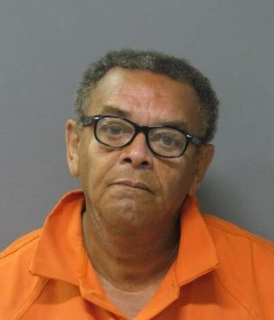 John Howard as he appeared on his arrest on November 29th, 2012.