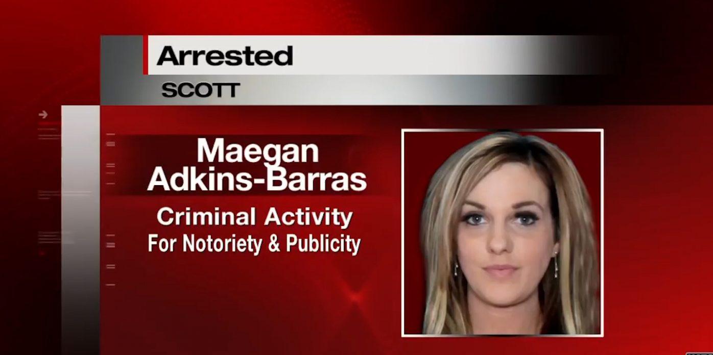 maegan barras arrested