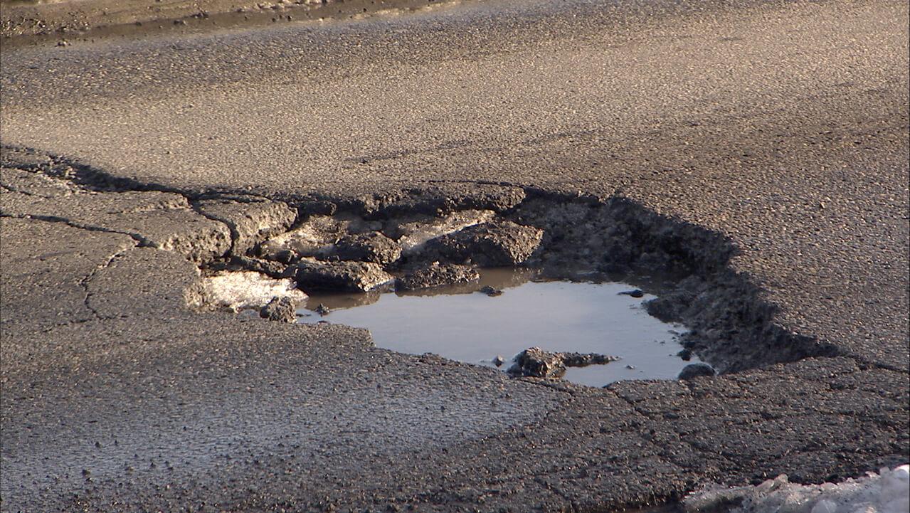 pothole damage